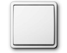 Vilma ST 150 jungiklis 1 kl. Yra baltos ir smėlio spalvos. Be rėmelio.